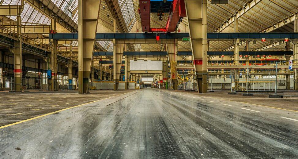 hala przemysłowa